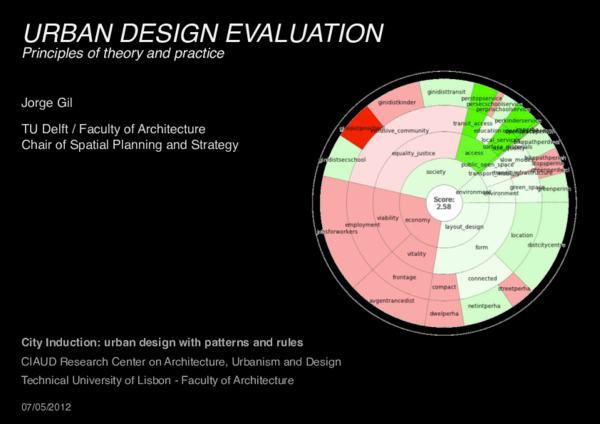 PDF) Urban Design Evaluation: Principles of theory and practice