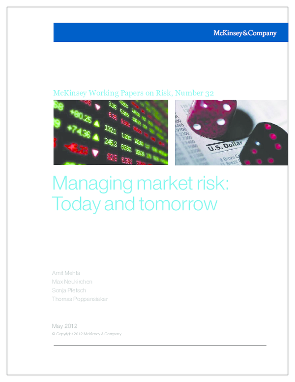 PDF) McKinsey Working Papers on Risk, Number 32 Managing