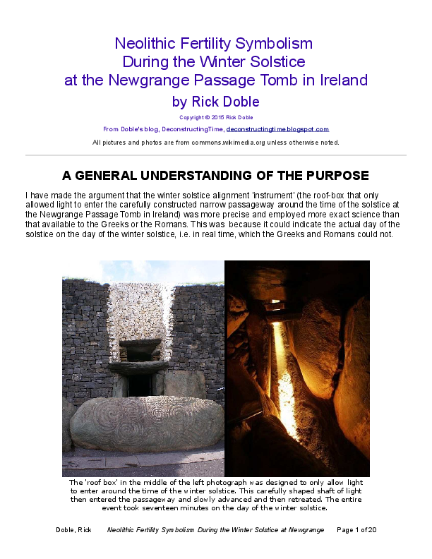 PDF) Neolithic Fertility Symbolism During the Winter