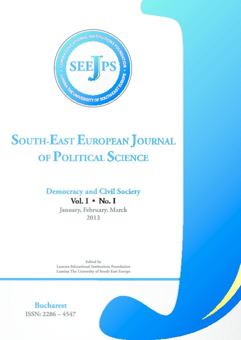 Pdf Sout East European Journal Of Political Science No 1 Vol 1 2013 Gelu Cristian Sabau And Catalin Raiu Academia Edu