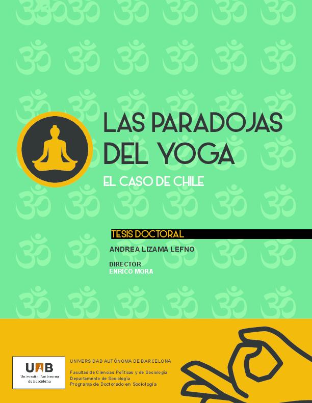 PDF) Las paradojas del yoga. El caso de Chile  40f0719d1950