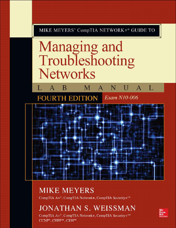 Comp Tia Network Guide To Managing And Troubleshooting Networks Lab