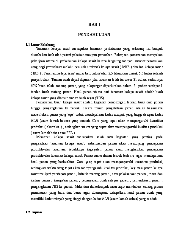Doc Pemanenan Kelapa Sawit Teguh Gumelar Academia Edu