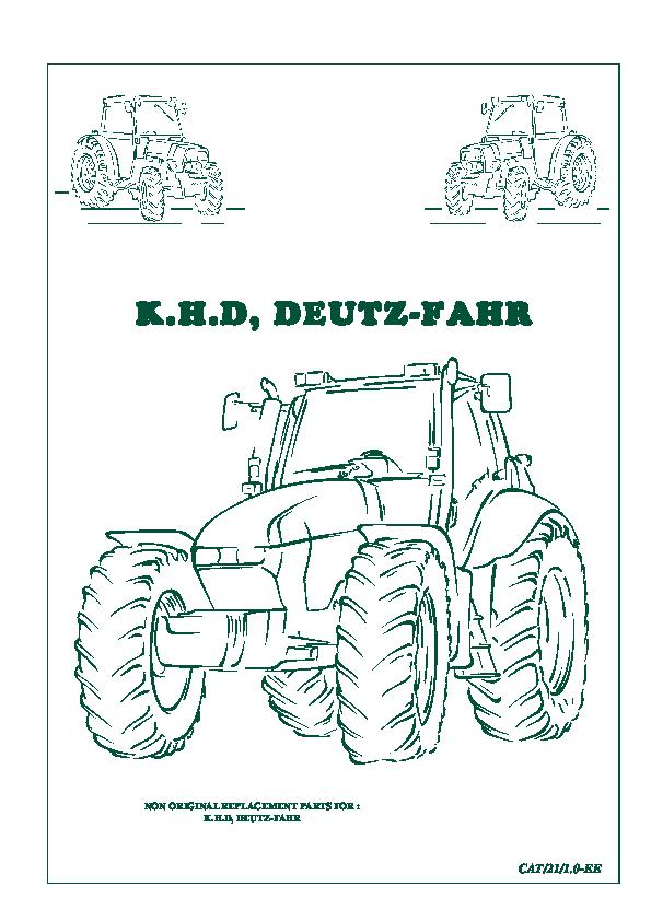 Enchufe Deutz-Fahr