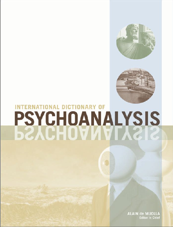 PDF) The International Dictionary of Psychoanalysis   Ayla