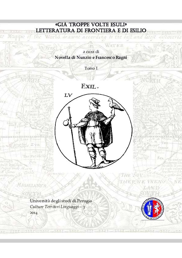 (PDF) Mazzini, il lungo esilio. Caratteri istituzionali e