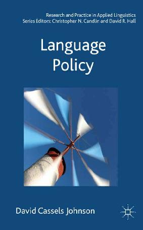 PDF) Language Policy | David Cassels Johnson - Academia edu