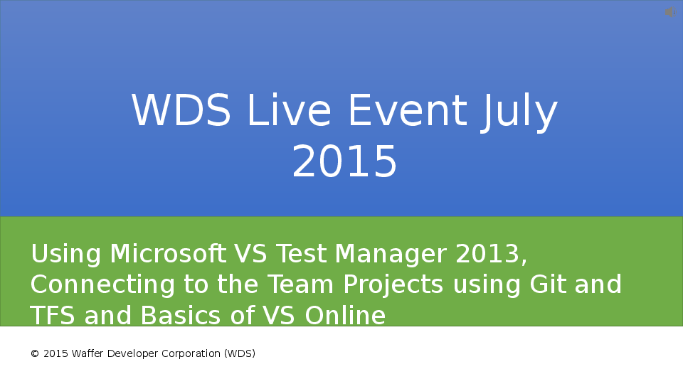 PPT) Using Microsoft VS Test Manager, Connecting Team