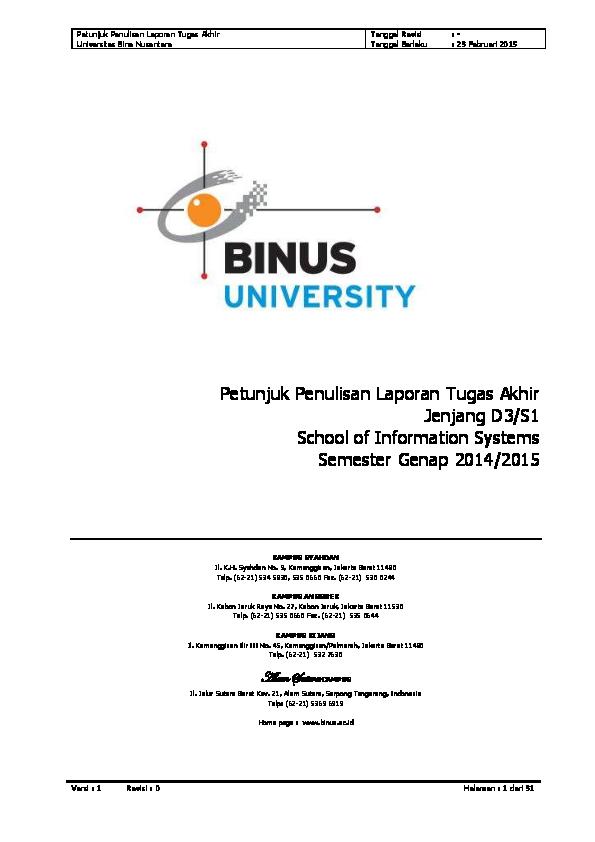 Pdf Home Page Www Binus Ac Id Prima Abadi Academia Edu