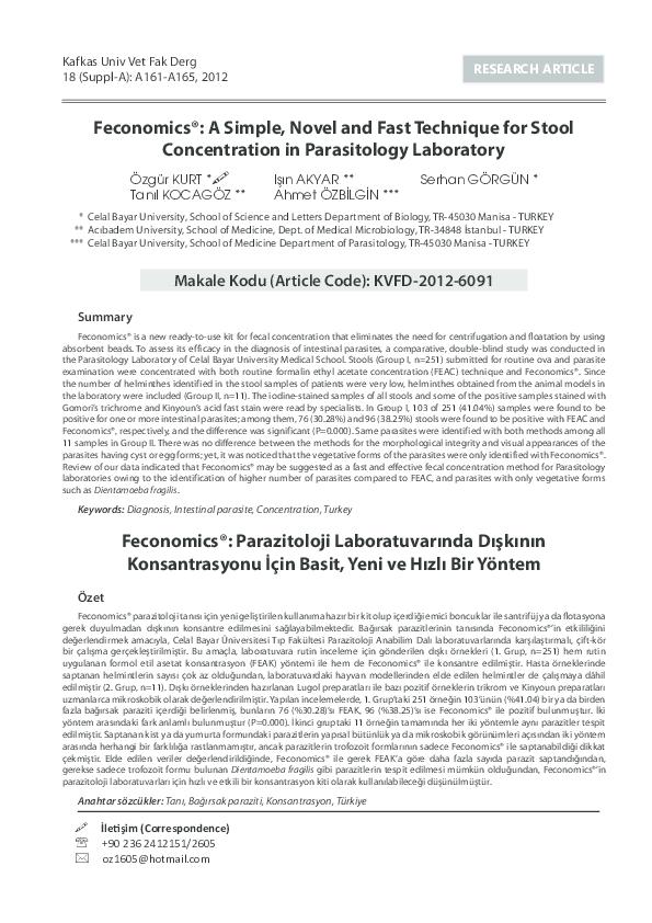PDF) Feconomics®: A Simple, Novel And Fast Technique For