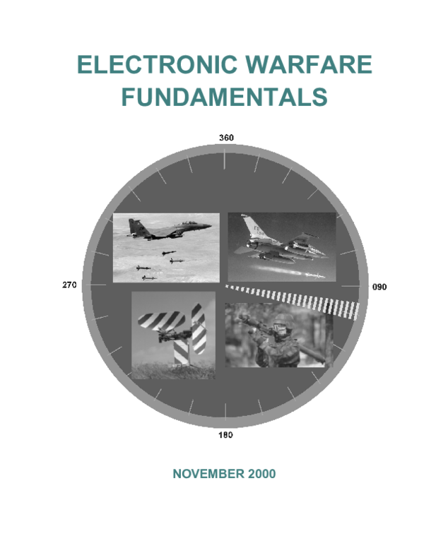 Fundamentals Of Electronic Warfare Pdf