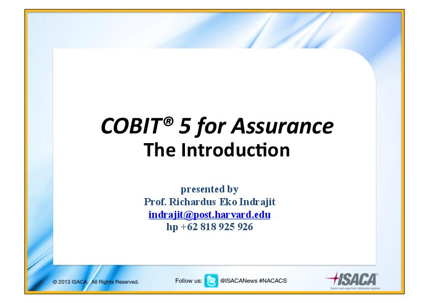 Pdf information 5 cobit enabling