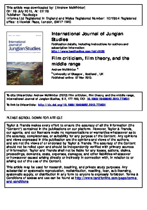 Pdf Short Article Andrew Mcwhirter Academia Edu