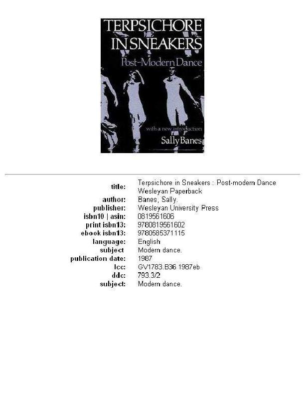 b10ee1bebe6 PDF) Terpsichore in sneakers