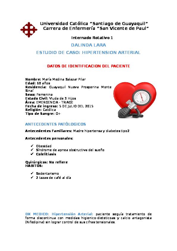 Definición de hipertensión antagonistas del calcio