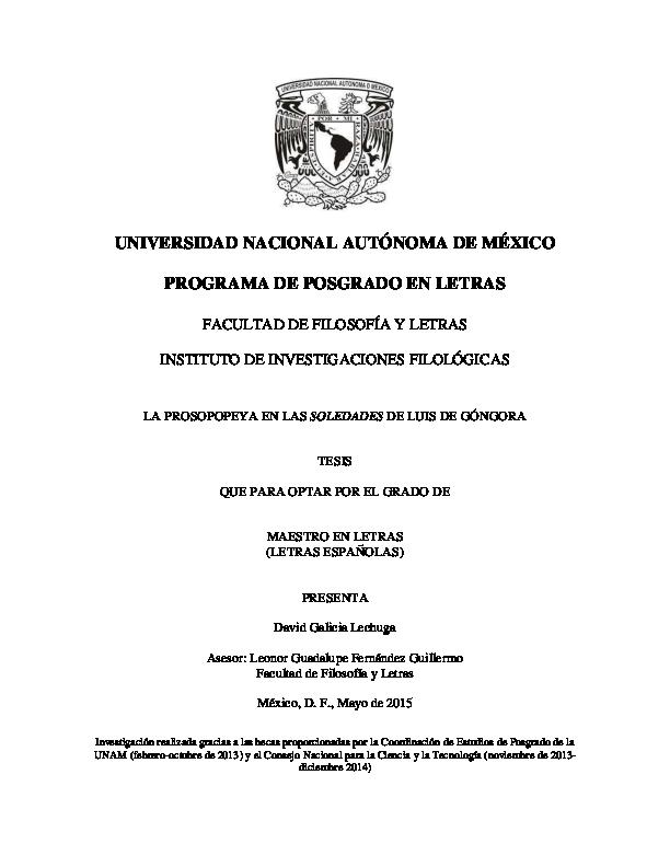 157b6c8fd7db PDF) La prosopopeya en las Soledades de Luis de Góngora