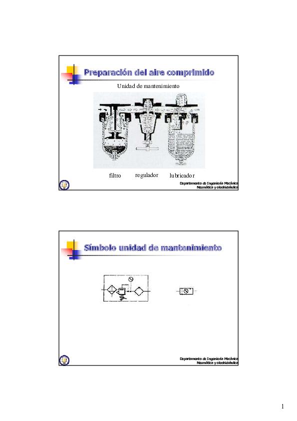 Preparación del aire comprimido pdf