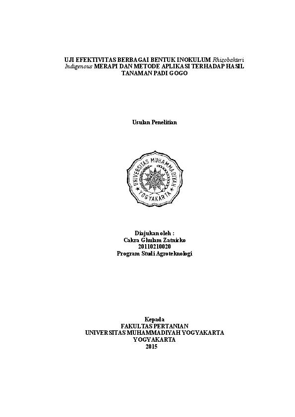 Doc Ghulam Proposal Penelitian Rizky Junianto Academia Edu