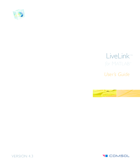 PDF) User´s Guide for matlab ® LiveLink TM | Josep Escrig