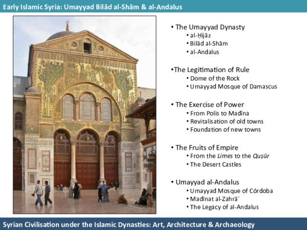 PDF) Syrian Civilisation under the Islamic Dynasties: Art