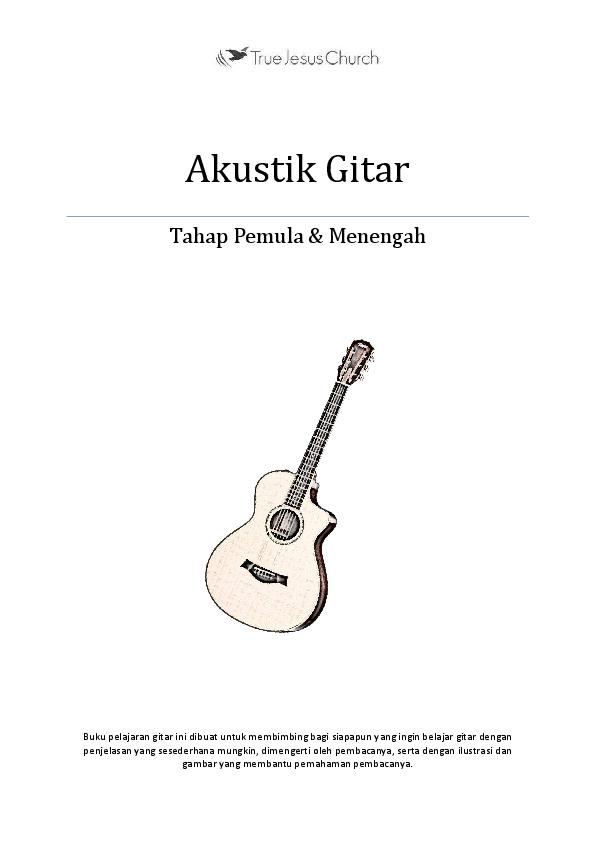 Cara Belajar Gitar Pdf