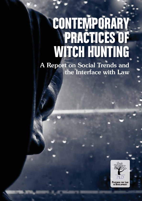 PDF) Contemporary Practices of Witch Hunting: A Report on