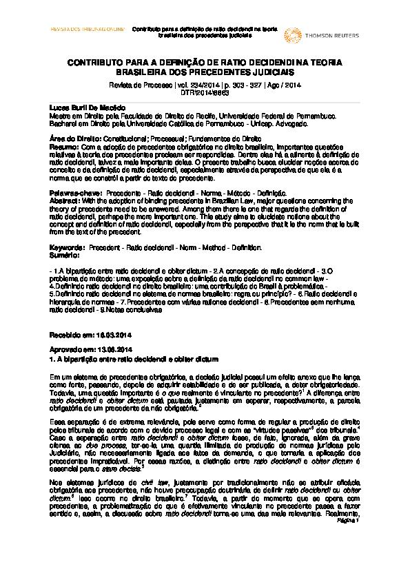 ratio decidendi pdf