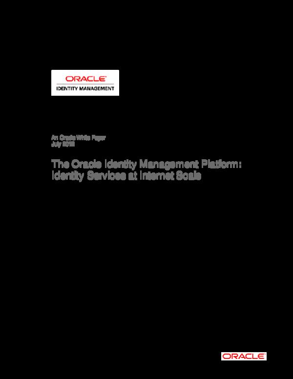 PDF) Oracle Identity and Access Mgmt en 11g   Edgar René Pescador B