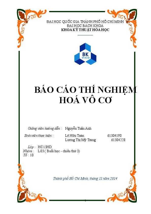 Bai Bao Cao Hoan Chỉnh My Ho Academiaedu