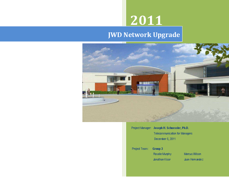 PDF) Network Design Project Proposal- Part I | Omotola