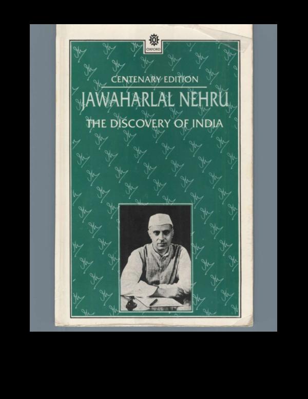 PDF) The Discovery Of India | Aroan Maria - Academia edu