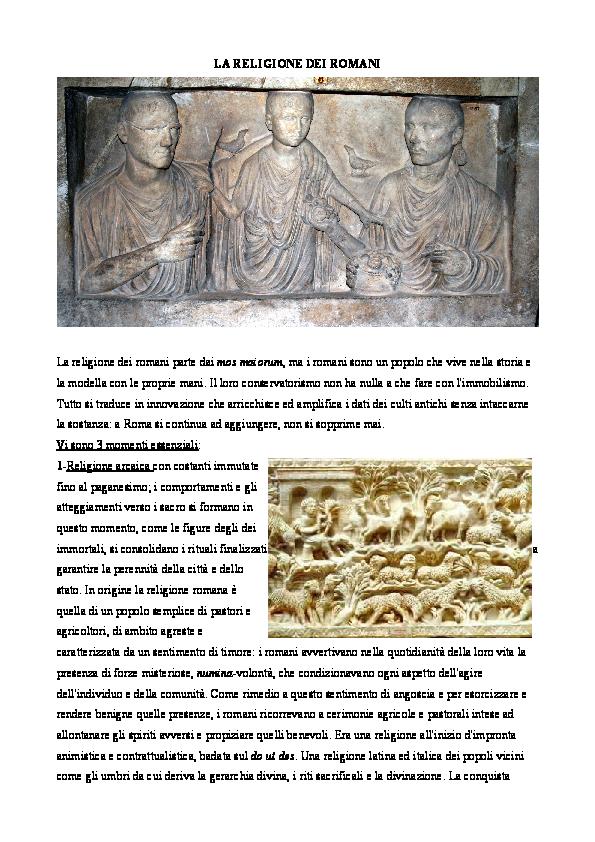 Il Calendario Romano Riassunto.I Culti Orientali In Epoca Romana Serena Dellamore
