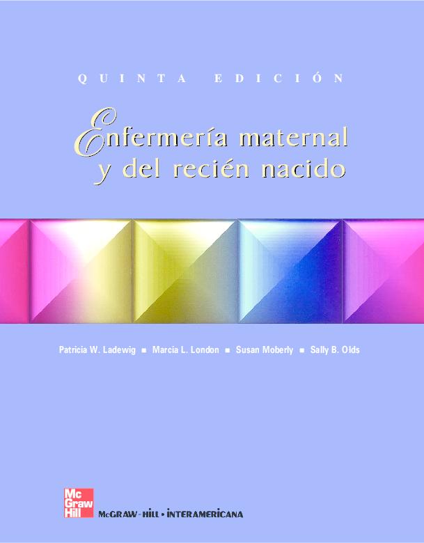 57f4ef31b PDF) Enfermeria Maternal y del recien nacido