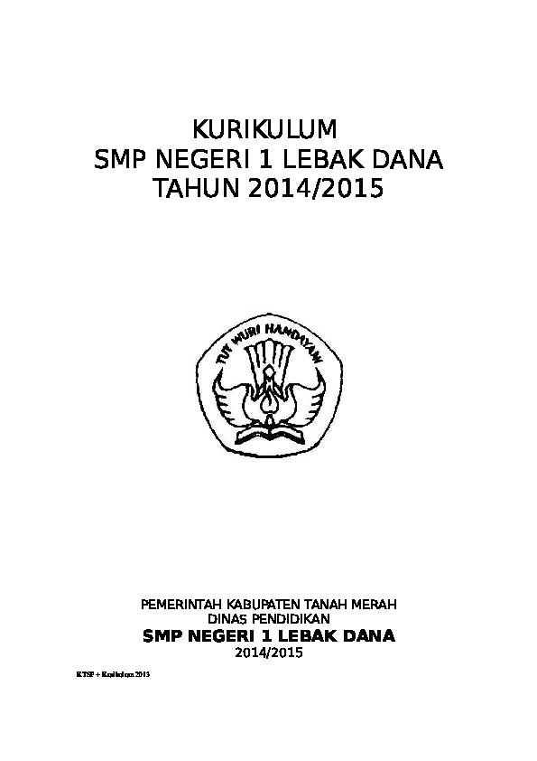 Rpp Btq Smp Kelas 7 Kurikulum 2013 - Revisi Sekolah