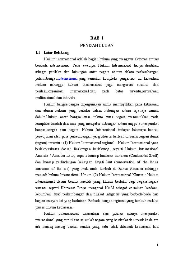 Doc Makalah Hukum Internasional Galih Yudha Nugraha Academia Edu
