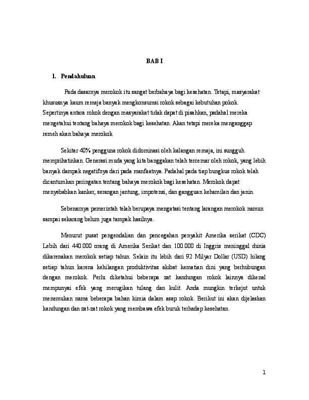 Doc Makalah Rokok Arief Wicaksono Academia Edu