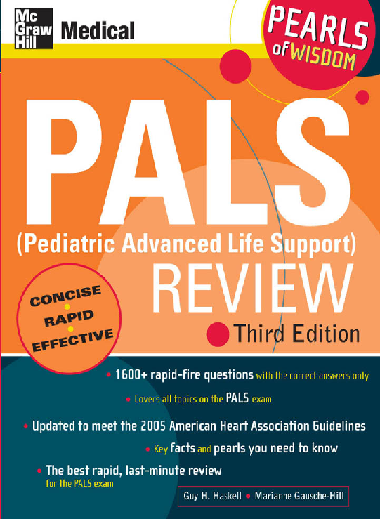 Pdf Pals Pediatric Advanced Life Support Review Clau Ramirez Academia Edu