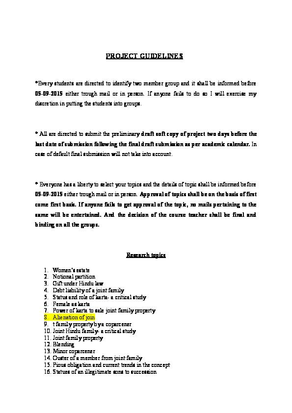 DOC) Family law II | Rajan Meena - Academia edu