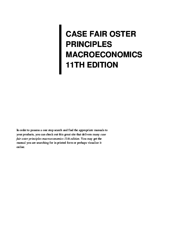 Edition and pdf 12th principles policy microeconomics