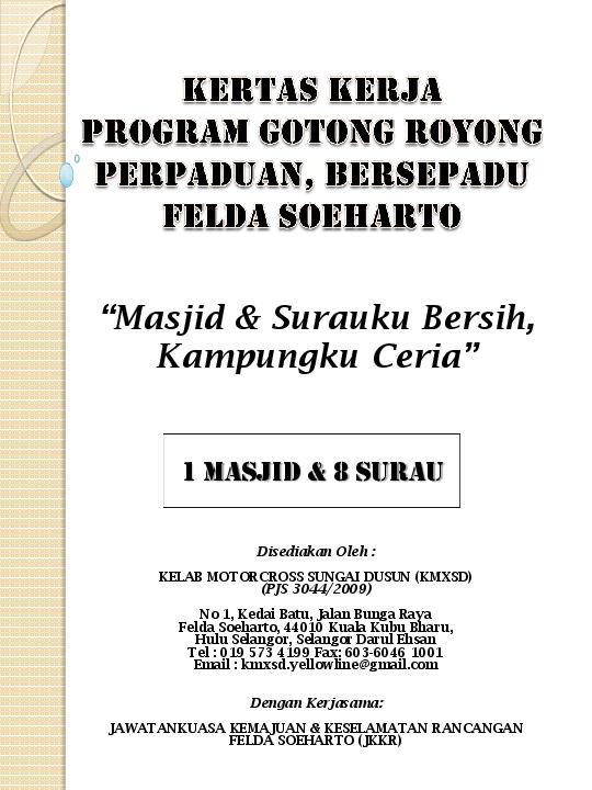 Pdf Kertas Kerja Program Gotong Royong Perpaduan Bersepadu2 Norlela Zakariah Academia Edu