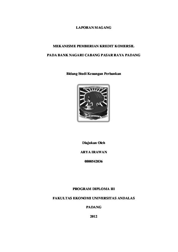 Pdf Laporan Magang Ricardo Ximenes Academia Edu