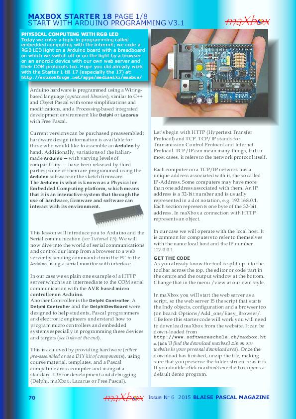 Magazine mini pdf world