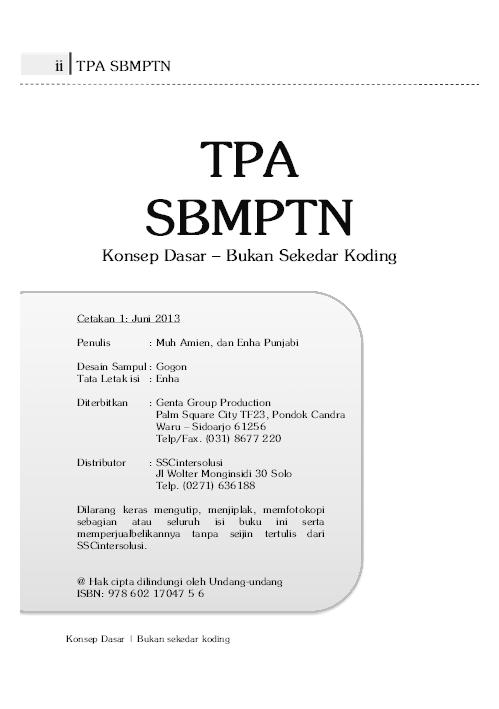 Buku Sbmptn Pdf