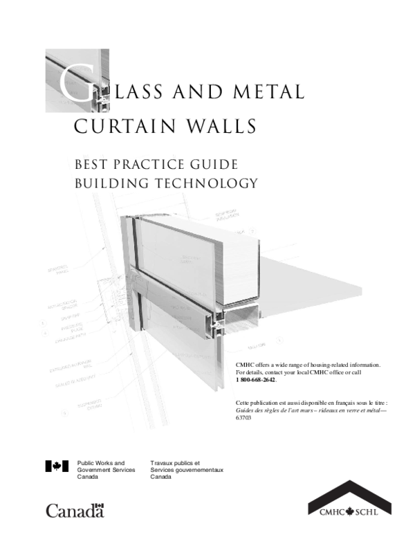 PDF) Glass and Metal Curtain Walls Steering committee for