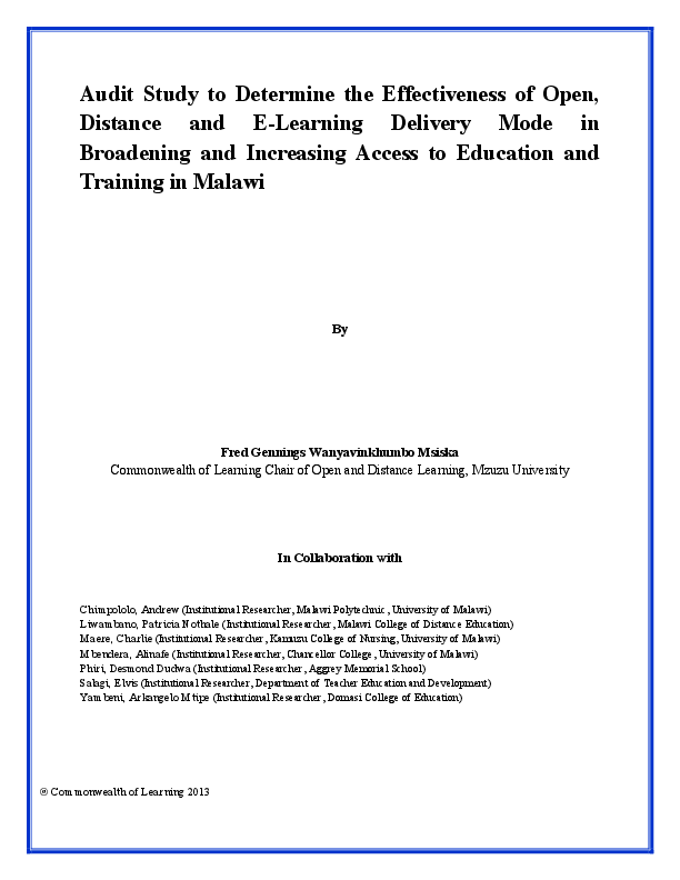 chinsapo secondary 2014 msce results