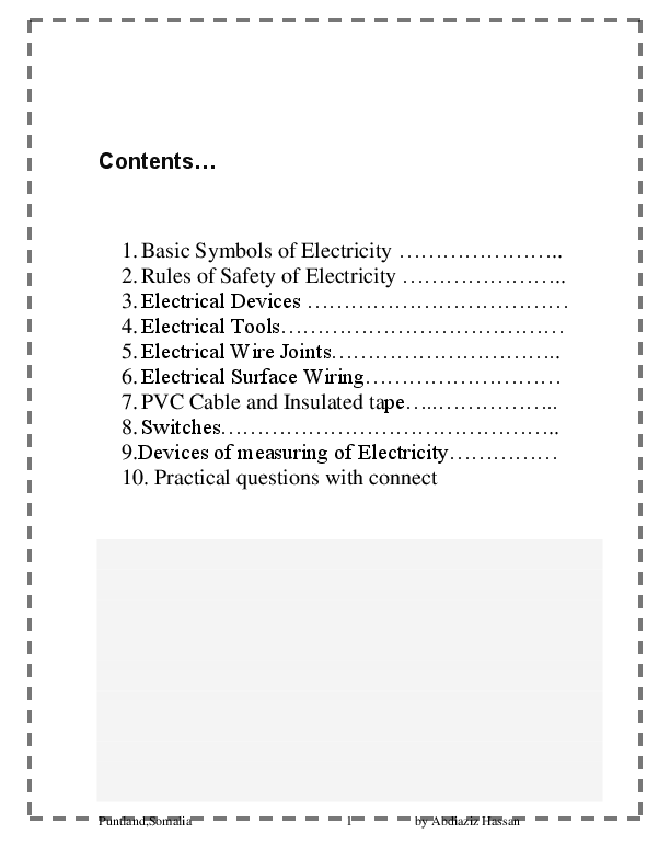 Excellent Pdf Basic Electrical House Wiring Abdulaziz Hassan Academia Edu Wiring Digital Resources Sapebecompassionincorg