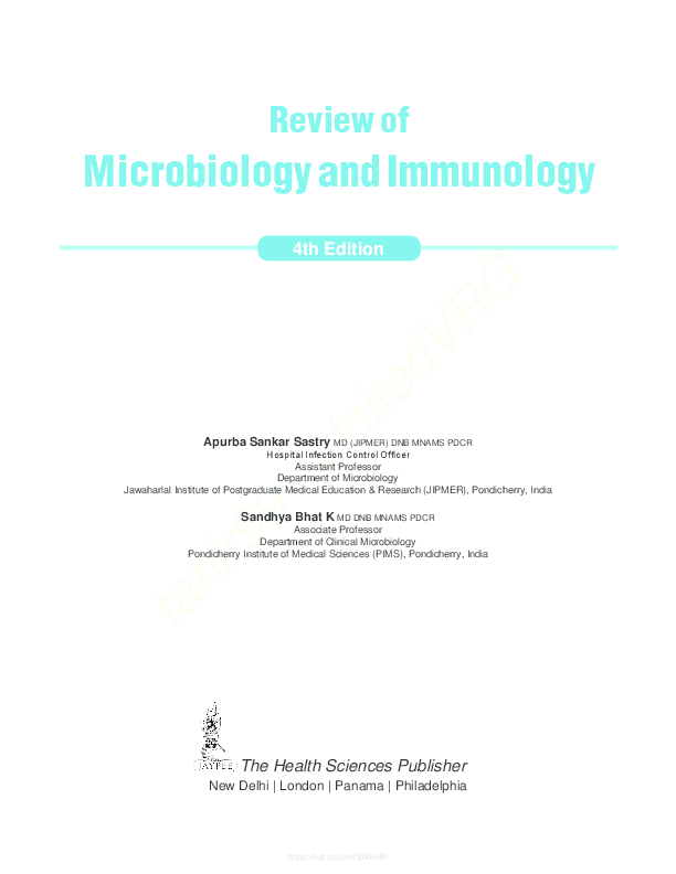Review Of Medical Microbiology And Immunology 12th Edition Pdf