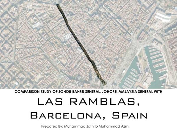 Carte Barcelone Las Ramblas.Pdf Comparison Study Las Ramblas Barcelona Spain Jafni