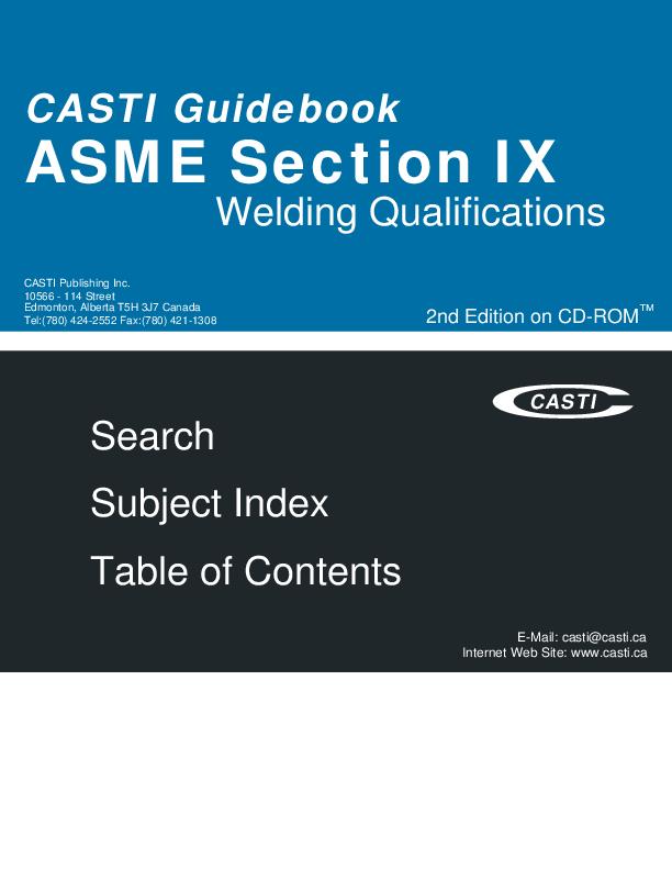 PDF) ASME Section IX 2nd Edition on CD-ROM | senou abdel - Academia edu