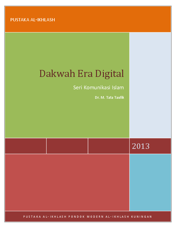 PDF Teknologi Dakwah